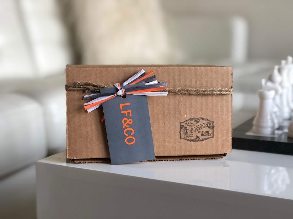 Custom Honey Gift Box