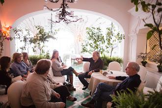 Photo: Screen talk with Michael Maren & Richard Russo