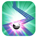 The Red Line Ball icon