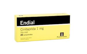Endial 1Mg Comprimidos   Caja X20Com. Roemmers Cinitaprida