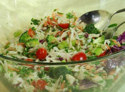 Summer Vegetable Slaw Recipe
