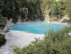 Photo: Ese agua es muy azul