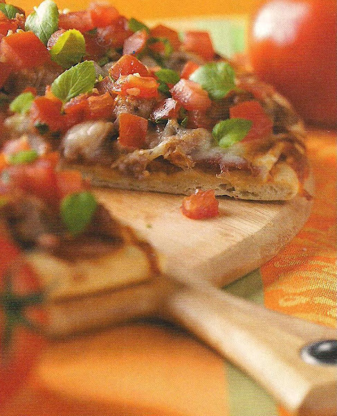 Bruschetta Pizza Recipe