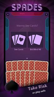 Spades Offline - náhled