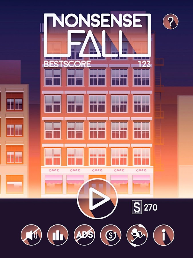 Nonsense Fall- screenshot