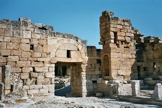 Photo: byzantská brána