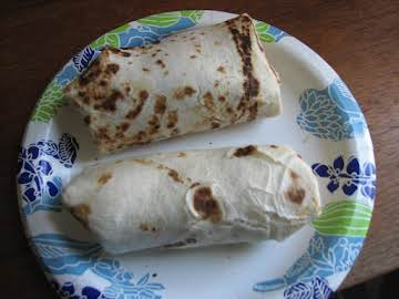 Migrant Worker Burritos with Colby Jack Cheese