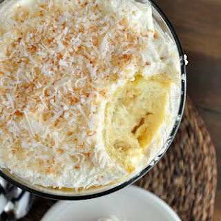 Coconut Tres Leches Trifle.