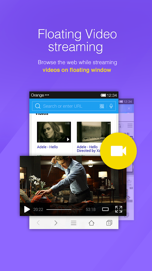 DU Browser—Browse fast & fun- screenshot