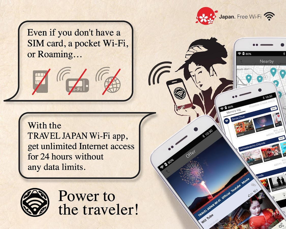 TRAVEL JAPAN Wi-Fi- screenshot