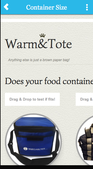 Warm and Tote Heated Lunch Boxes- screenshot