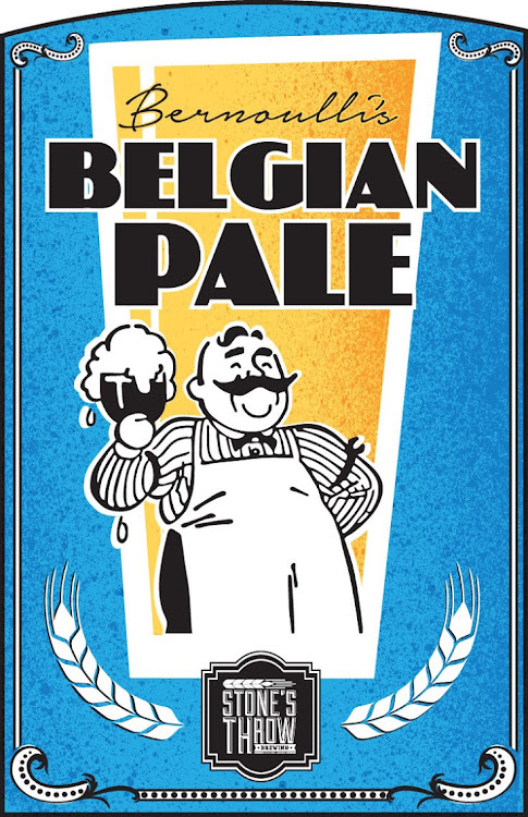 Logo of Stone's Throw Bernoulli's Belgian Pale Ale