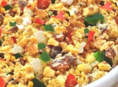 New Twist On Cornbread Salad Recipe