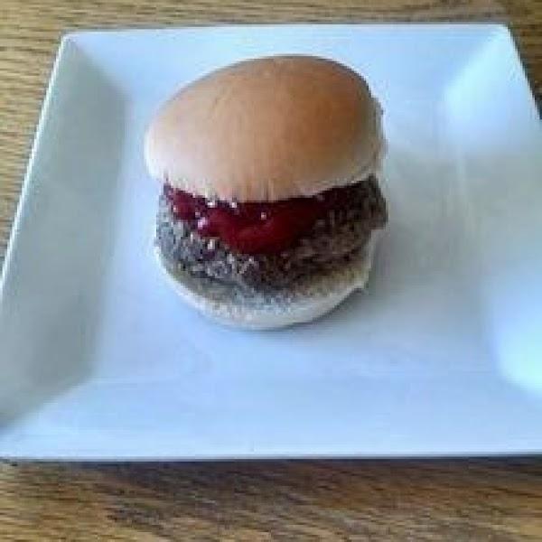 Wine Steamed Burgers Recipe