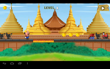 Motu Patlu Train Game 1.0 screenshot 506207