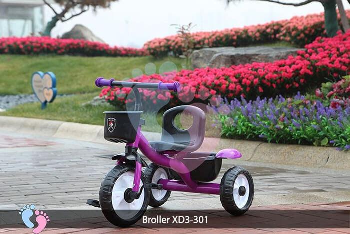 Xe đạp ba bánh trẻ em Broller XD3-301 7