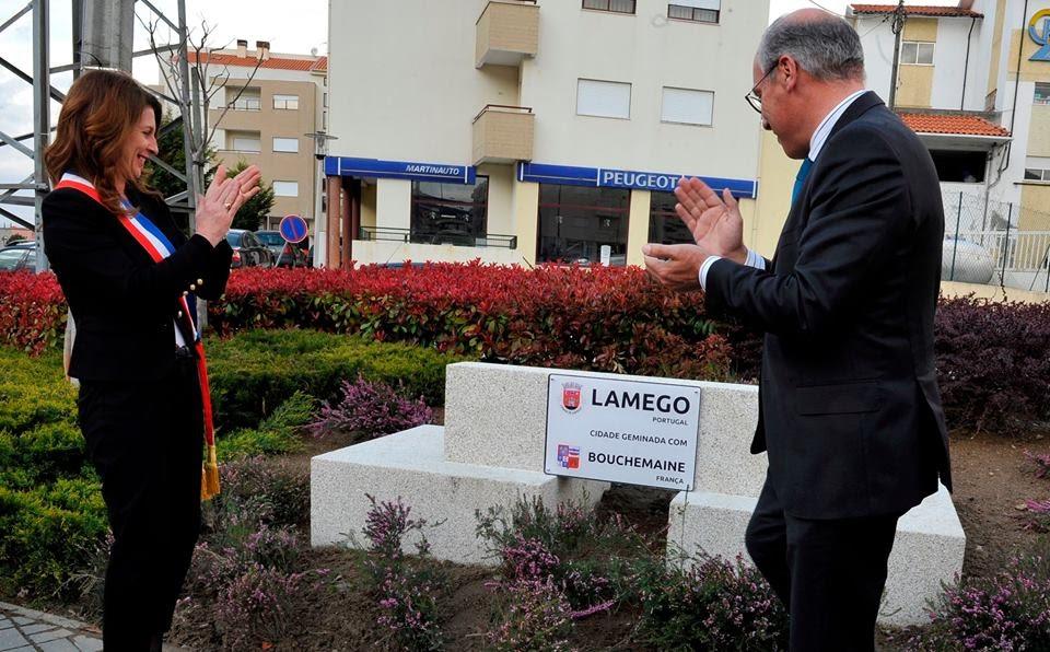 Lamego e Bouchemaine renovam acordo de geminação