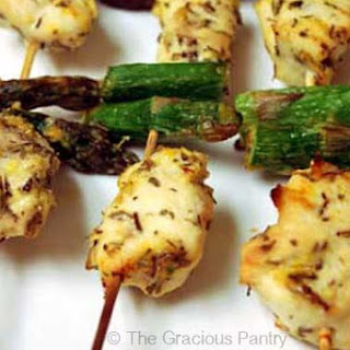 Clean Eating Chicken Kebobs Recipe