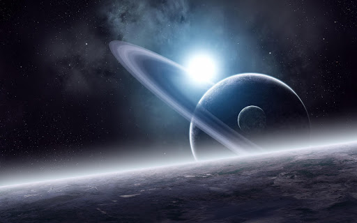 Saturn Planet Live Wallpaper
