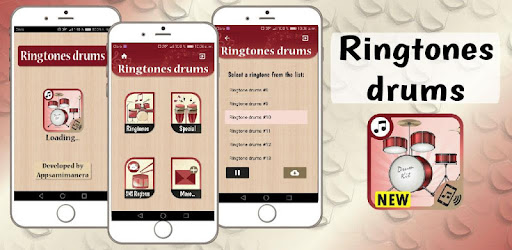 ringtones drums for phone, free drums sounds 1 11 (Android