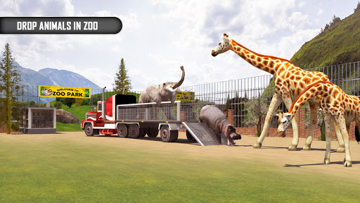 Animal Transporter Offroad Drive screenshots 1