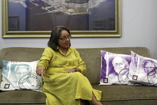 Cape Town mayor Patricia de Lille.