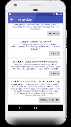 Fix Play Service 2019- Check new update 1.3 screenshots 2