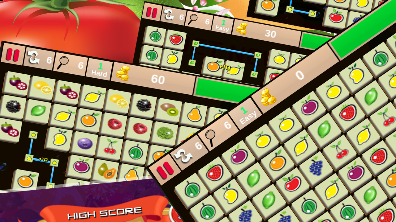 Game onet fruit - Onet New Fruits Screenshot