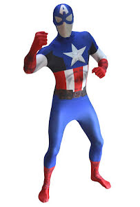Morphsuit, Captain America zappar