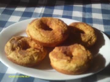 Pumpkin Spice Doughnuts
