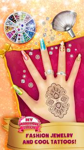 Manikúra salon pro dívky:Konstrukce nehtů - náhled