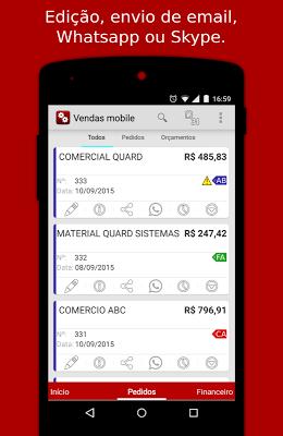 Vendas Mobile,Pedidos,Estoque. - screenshot