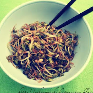 Simple Mung Bean Sprouts