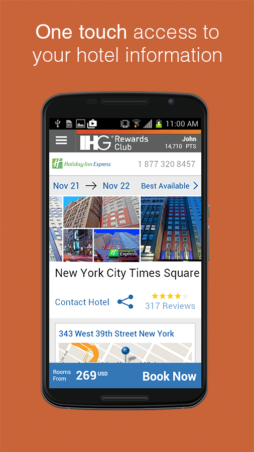 IHG® Hotel Booking & Deals - screenshot
