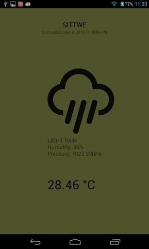 玩免費天氣APP|下載Sittwe Weather app不用錢|硬是要APP