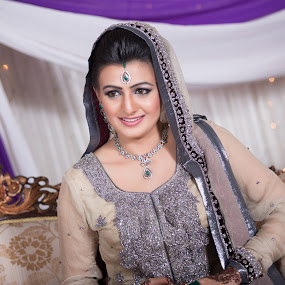 Bride on Stage by Awais Javed - Wedding Bride ( canon, canon 6d, wedding, bride, stage )