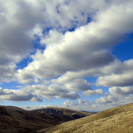 REACH FOR THE SKY by Cynthia Dodd - Novices Only Landscapes ( clouds, mountains, sky, nature, landscapes )