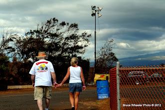 Photo: Mainland visitors...
