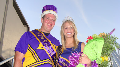 Photo: The 2012 ECU Homecoming King and Queen.