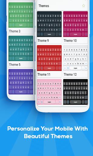 Russian keyboard: Russian Language Keyboard 1.0 screenshots 2