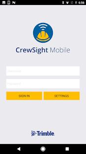 CrewSight Mobile - náhled