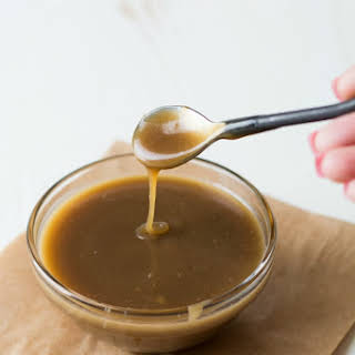 5 Ingredient Bourbon Butterscotch Sauce.