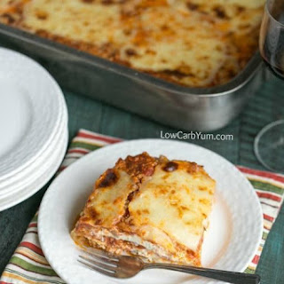 Cabbage Lasagna - Low Carb and Gluten Free Recipe