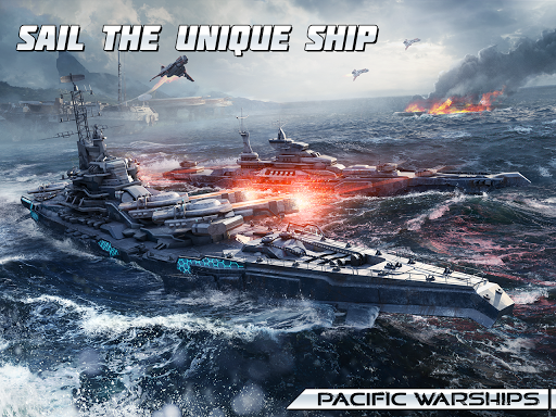 Pacific Warships: World of Naval PvP Warfare apktram screenshots 10