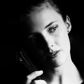 by Emmy Dijkmans - People Portraits of Women