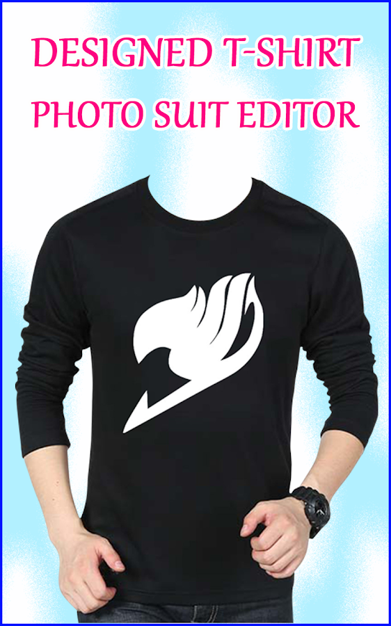 men design t shirt photo suit t shirt photo editor