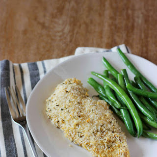 Dijon Panko Crusted Chicken Breasts
