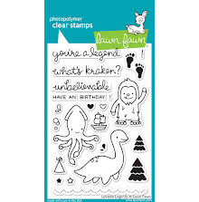 Lawn Fawn Clear Stamps 4X6 - Lovable Legends