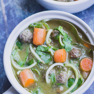 Whole 30 Italian Wedding Soup.
