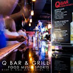 Logo for Q Bar Darien